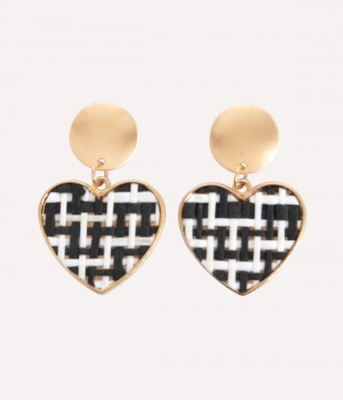 Brownie | Woven Designed Earrings