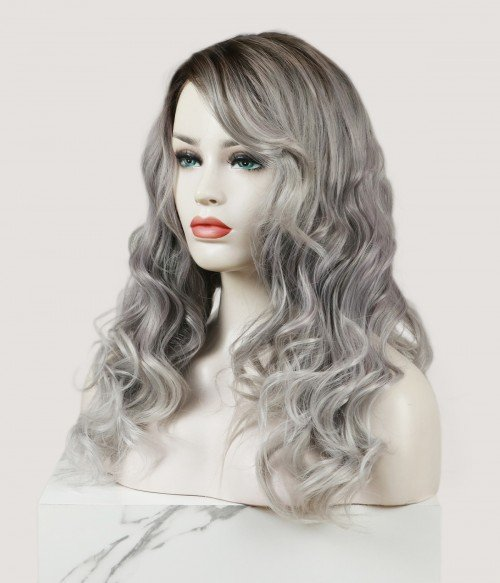 Aerolite | Curly Synthetic Lace Front Wig