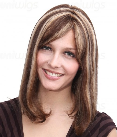 Ashley Remy Human Hair Lace Front/Mono Glueless Wig