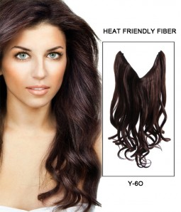 "16"" Wave Synthetic Miracle Wire Uni-Hair Extension E51006-Y-6O"