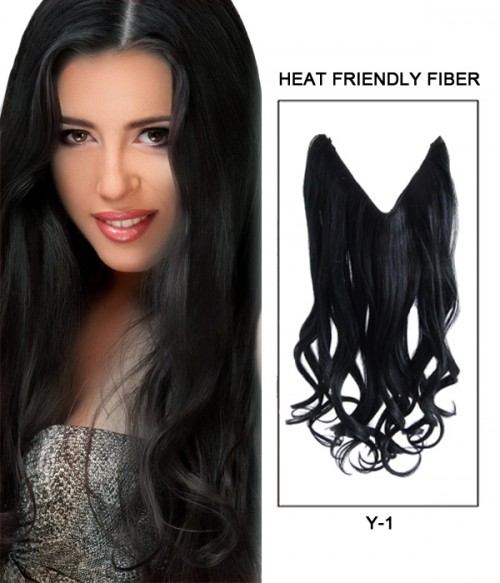 "20"" Wave Synthetic Flip In Hair Extension E52000-Y-1"