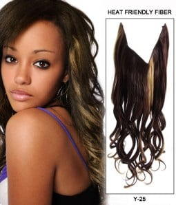 "20"" Wave Synthetic Miracle Wire Uni-Hair Extension E52000-Y-25"