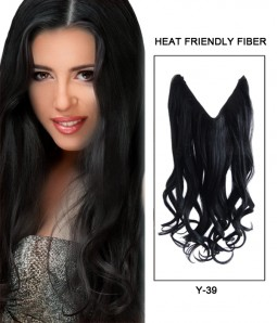 Shop 20 inch hair extensions at uniwigs 20 wave synthetic flip in hair extension pmusecretfo Choice Image