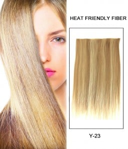 "22"" Straight Synthetic Flip In Hair Extension E52003-Y-23"