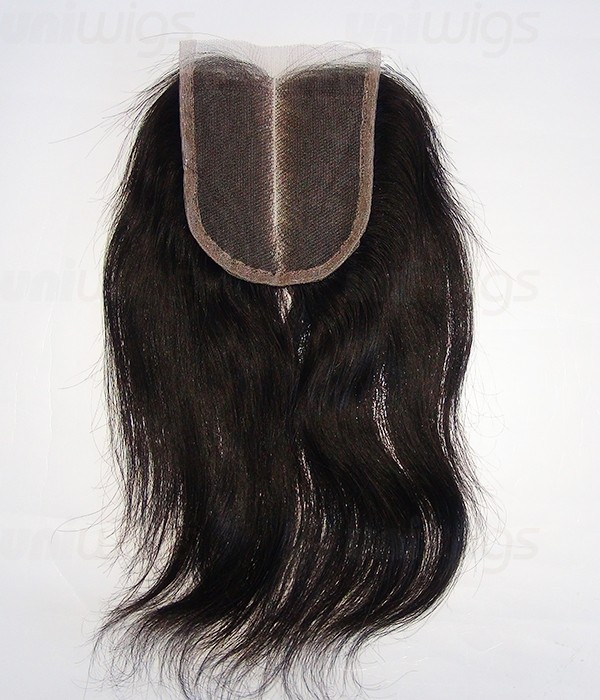 3 5 Quot X4 Quot Natural Straight Brazilian Remy Human Hair Lace