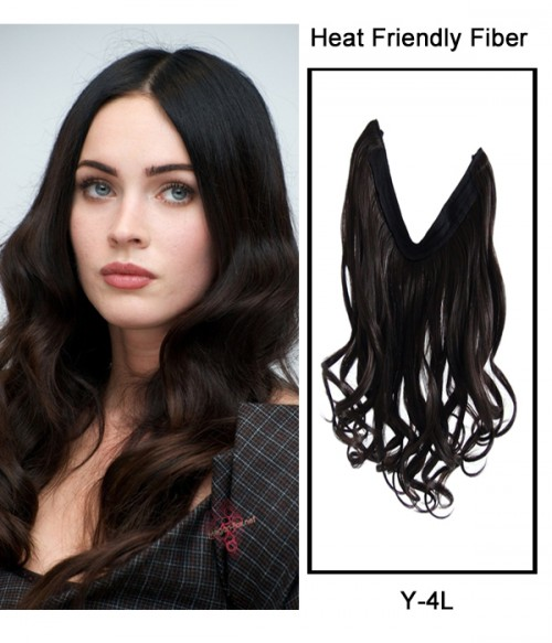 "16"" Wave Synthetic Flip In Hair Extension E51006-Y-4L"