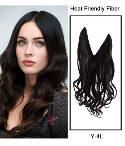 """22"""" Wave Synthetic Flip In Hair Extension E52002-Y-4L"""