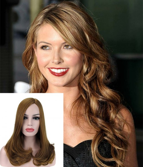 "16"" Top Quality Virgin Remy Human Hair Injected Skin Top Jewish Wig"