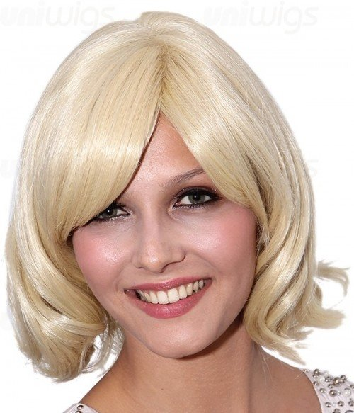 Miracle Human Hair/Synthetic Blend Mono Wig