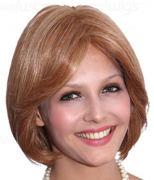 Griffin Human Hair/Synthetic Blend Mono Wig