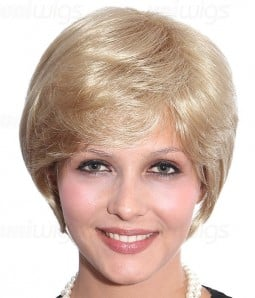 Heather Synthetic Capless Wig