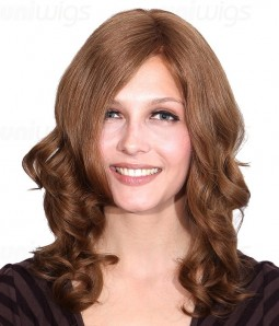 Glaze Remy Human Hair Lace Front/Mono Glueless Wig