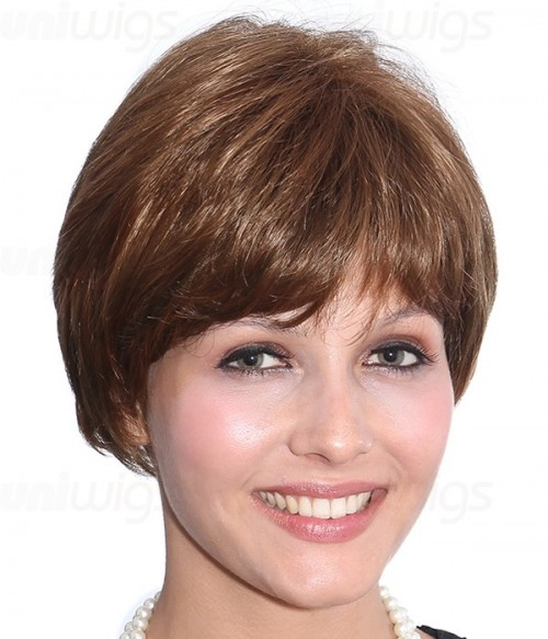Sandra Synthetic Capless Wig