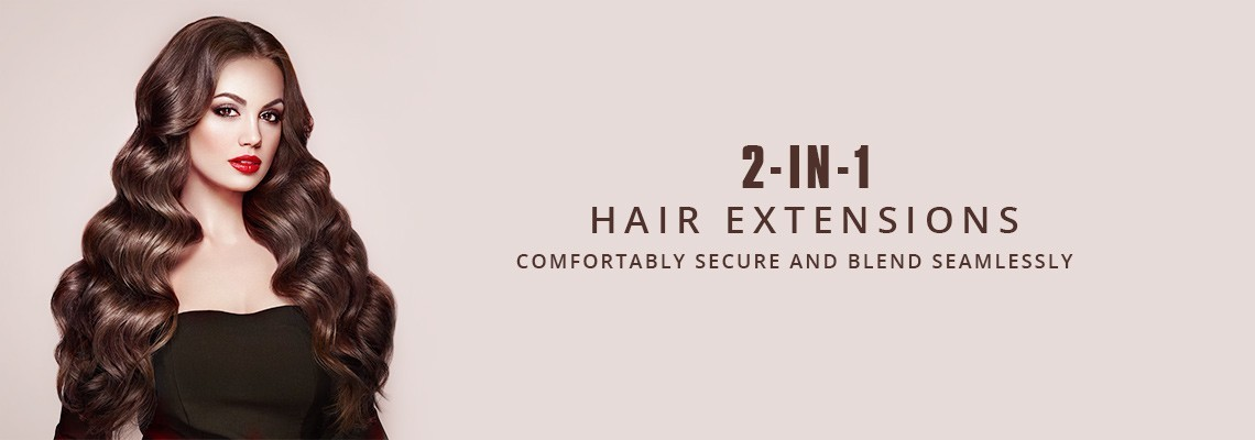 Halo Hair Extensions 2 In 1 Clip And Flip In Hair Extensions