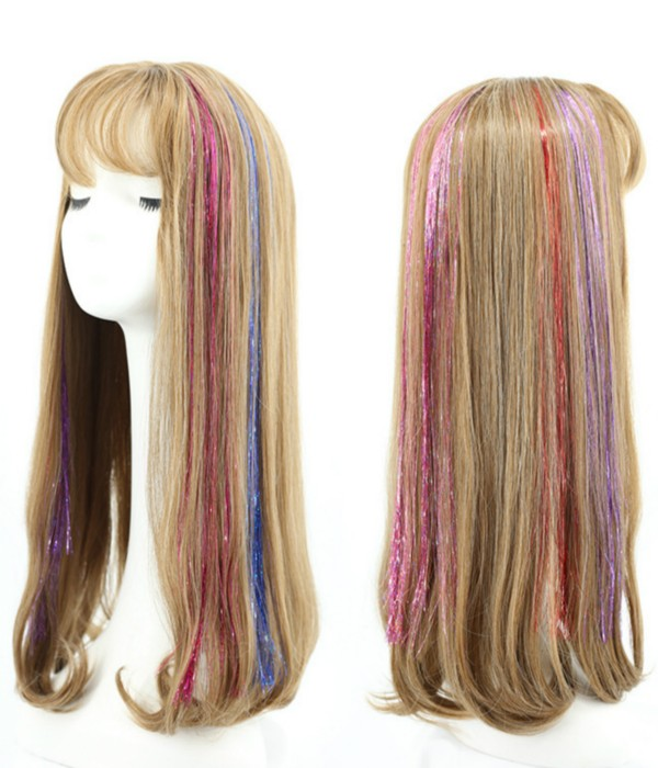 12-colors-sparkling-shiny-hair-flairs-extensions-c-hair-tinsel-strands