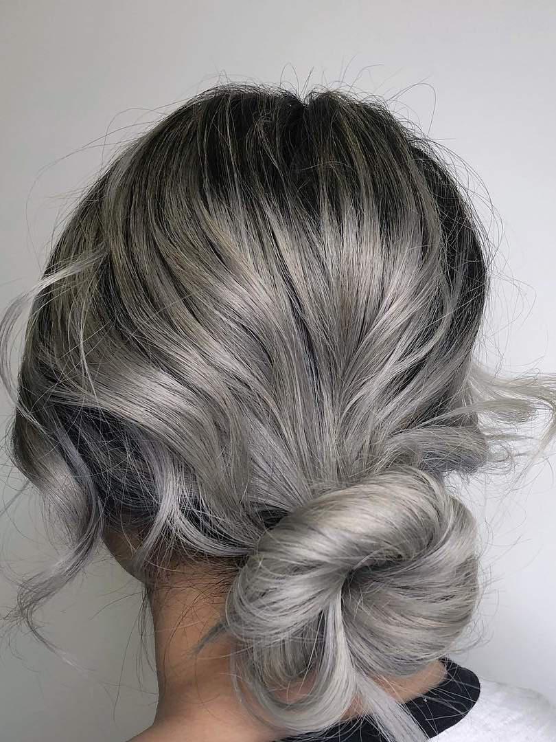 ashy gray