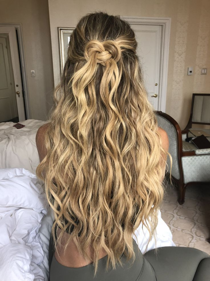 beach waves hair