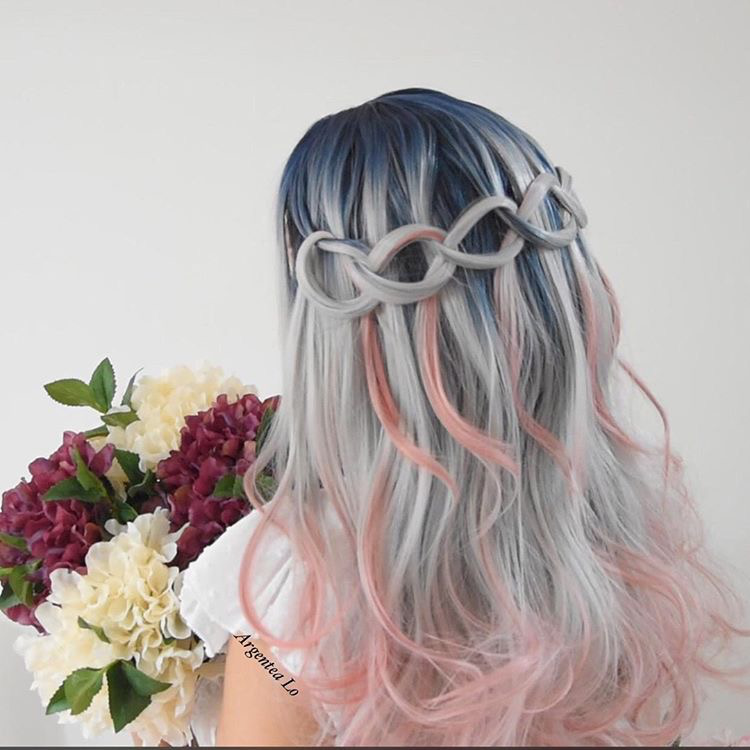 Celestial Rose Lace Front Wig