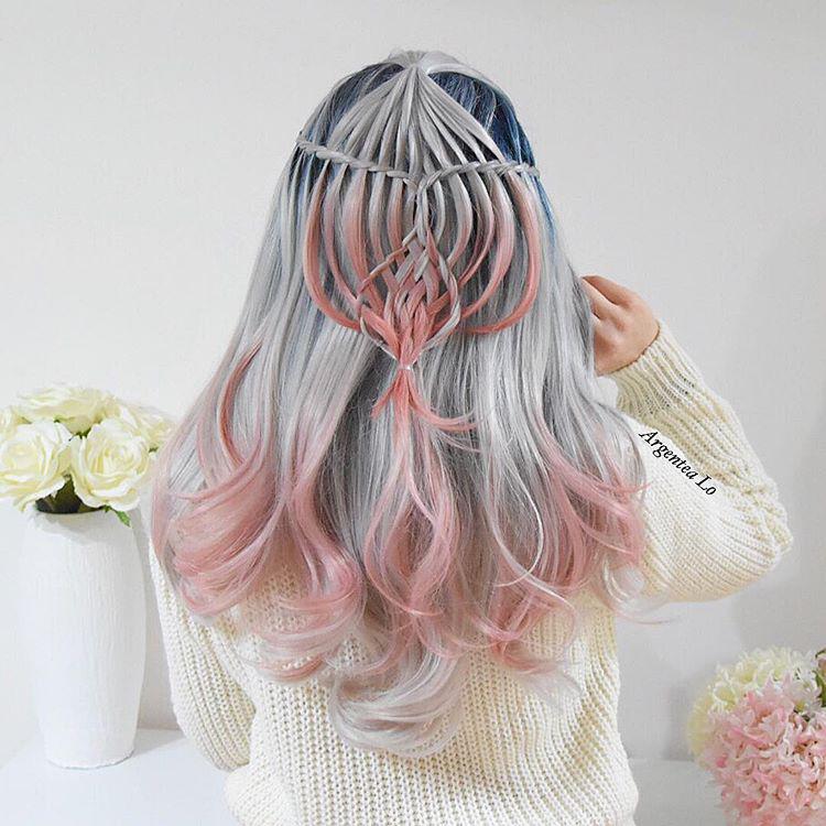 Celestial Rose Wig