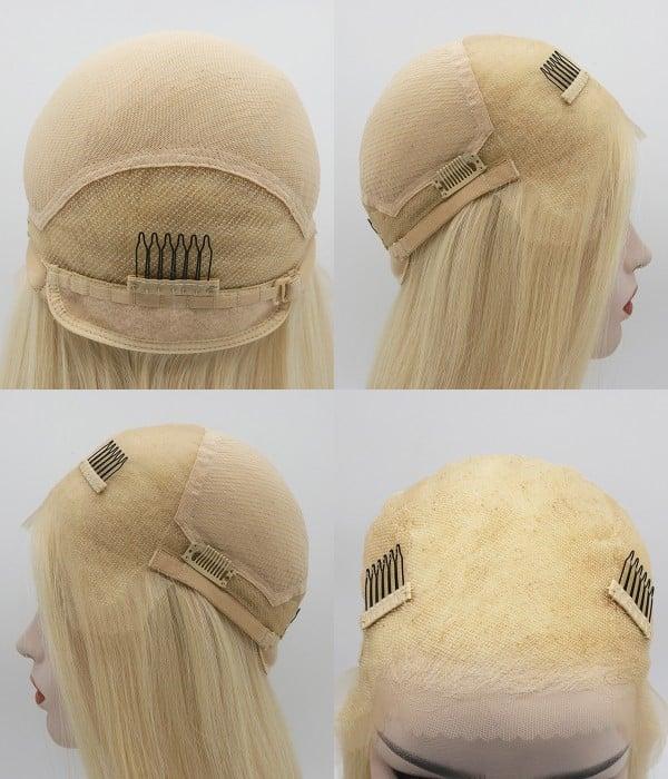 Glueless lace wig cap