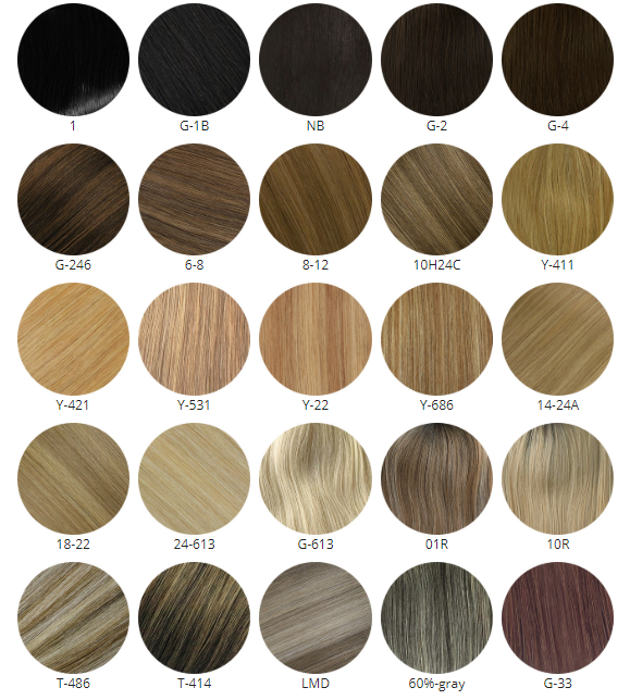 How To Select the Hair Color