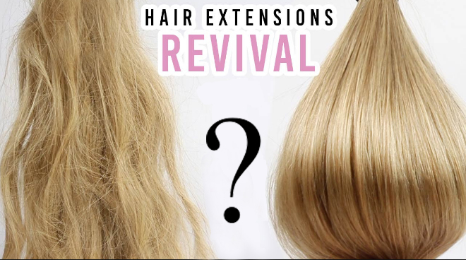 How To Wash and Revive Old Hair Extensions