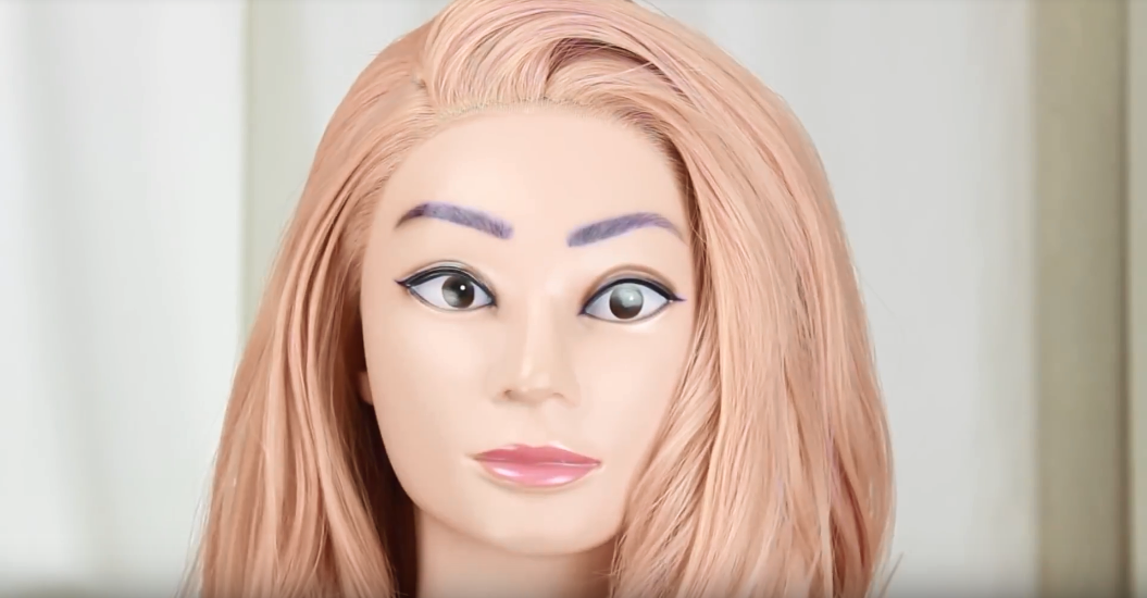 How To Wear a Syntehtic Lace Front Wig 02