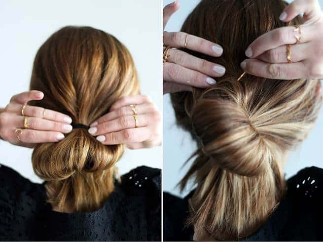 How To Make A Bun For Short Hair And Hold It Tight