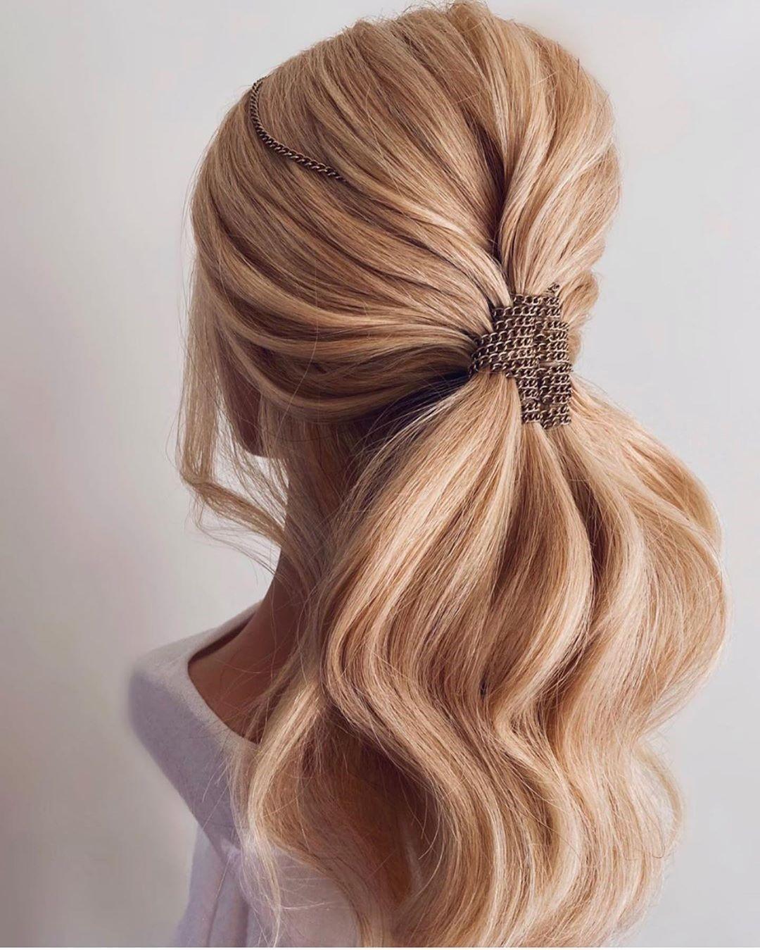 Low ponytails