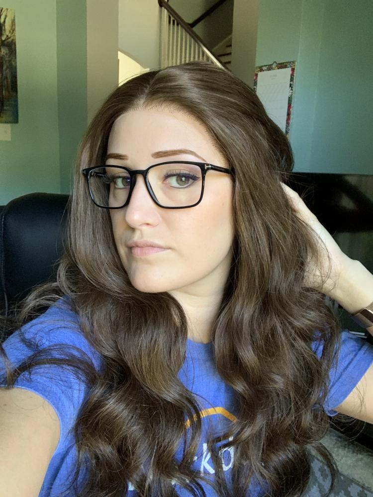 Long Wavy Remy Human Hair Lace Wig