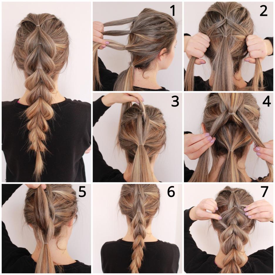 hair braiding style