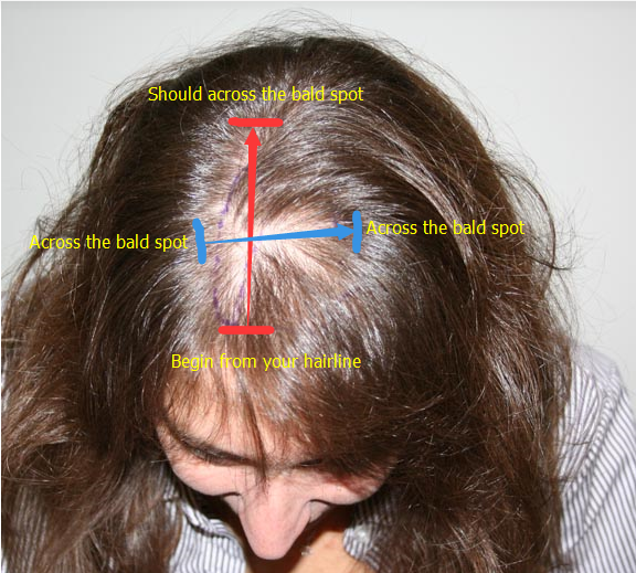 hair toppers measurements guide