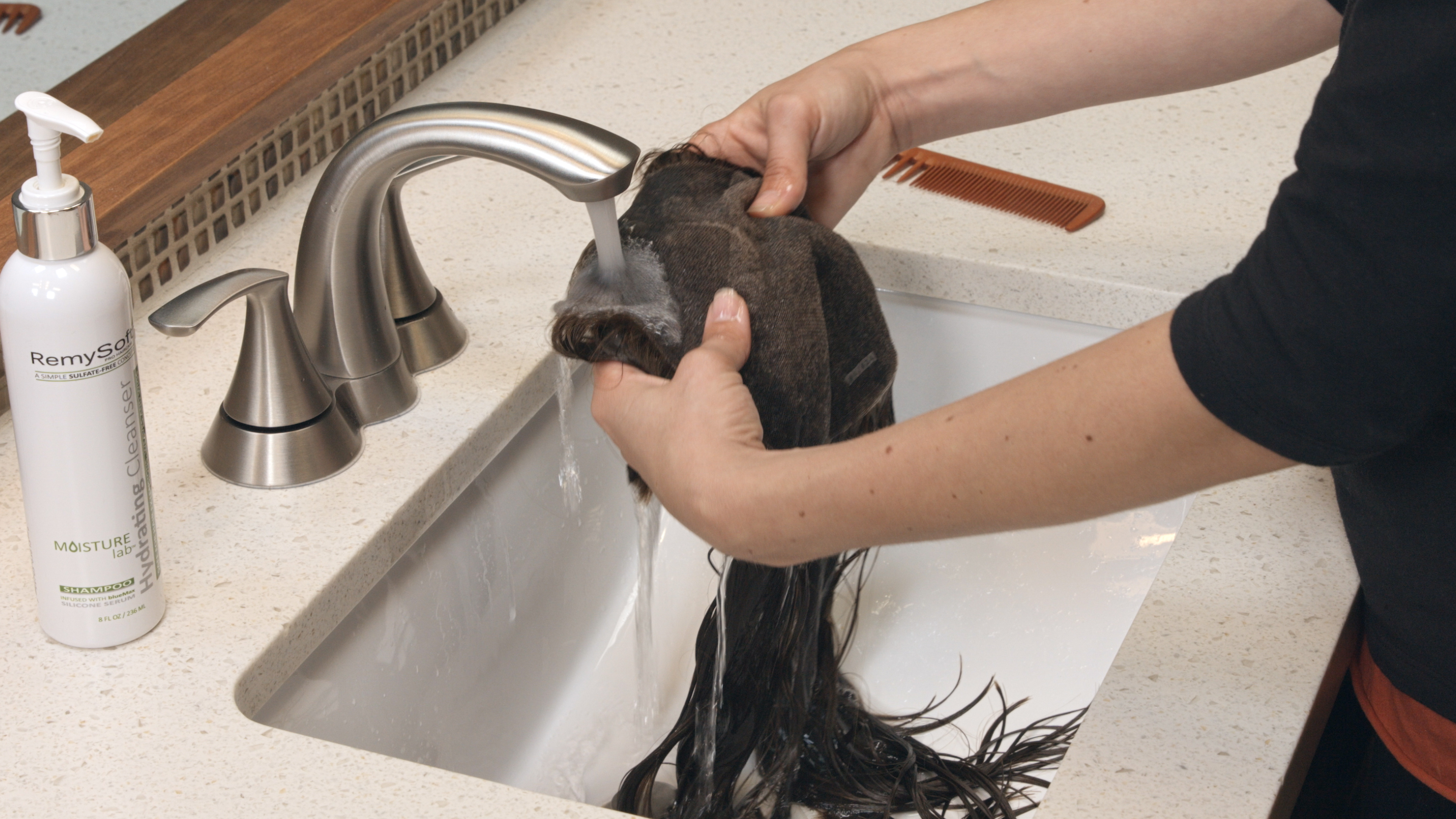 how to wash human hair topper 01