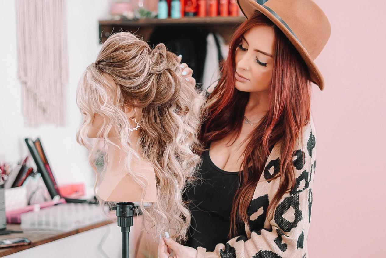 salon hairstyle