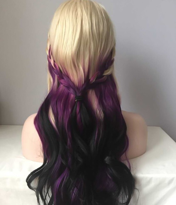 YL-106(Iris Purple Splash )