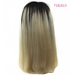 UL0004-1B-613(Off Black to Platinum Blonde)