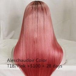 Alexchaudoir Color T1B/Pink +$100 + 28 days