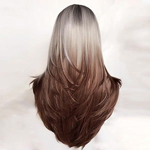 YL162(Ice Silver to Chocolate Brown)