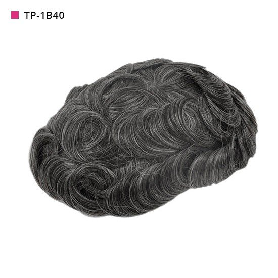 TP-1B40 Off Black with 40% Gray Hair