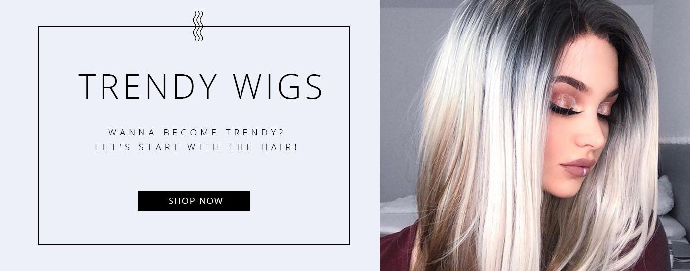 trendy wigs