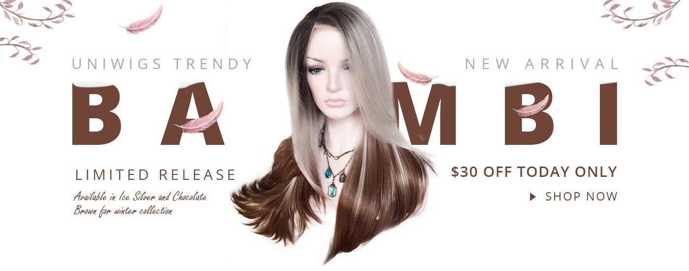 uniwigs new arrival ombre bambi wig