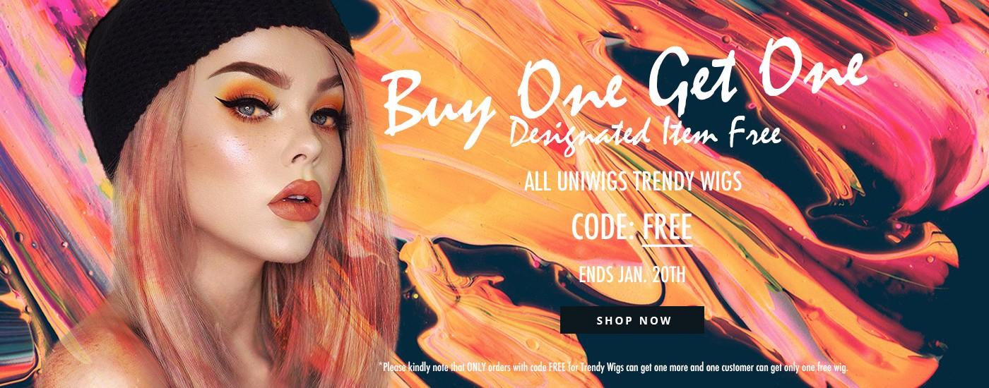 Buy one get one designated item free