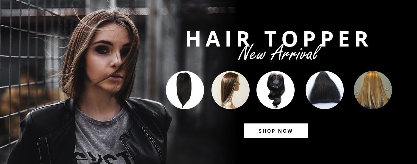 hair topper new arrival