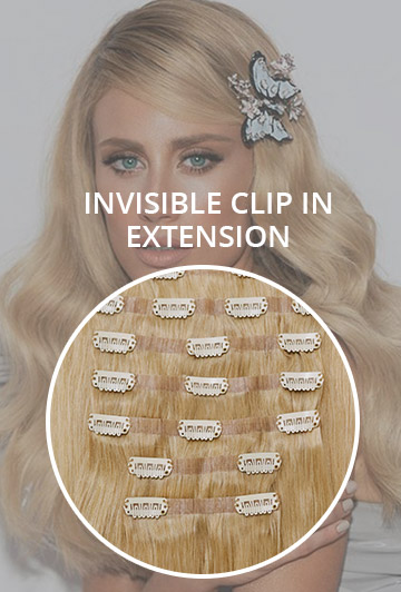 INVISIBLE CLIP IN EXTENSION