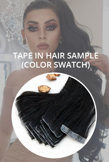 Tape In Hair Sample (Color Swatch)