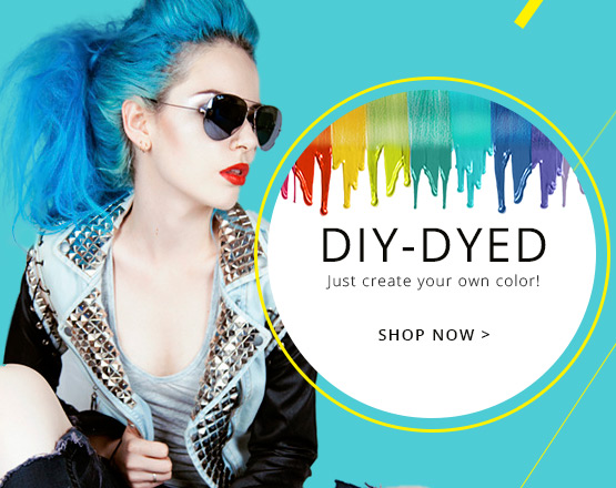 diy dyed extension