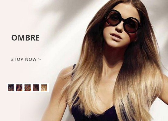 ombre color hair extension