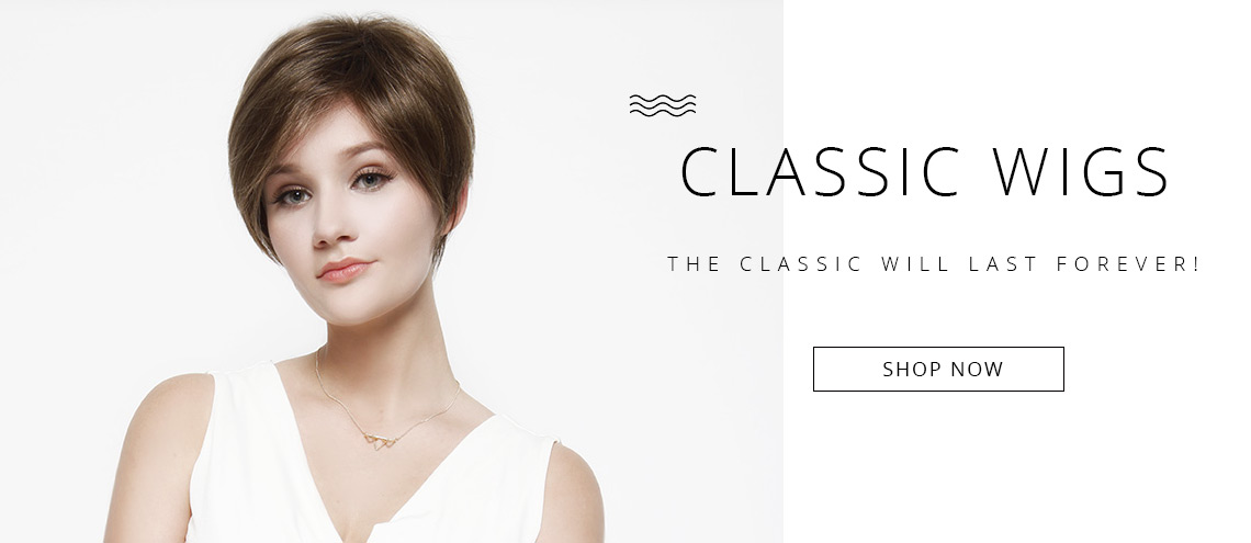 synthetic classic wigs