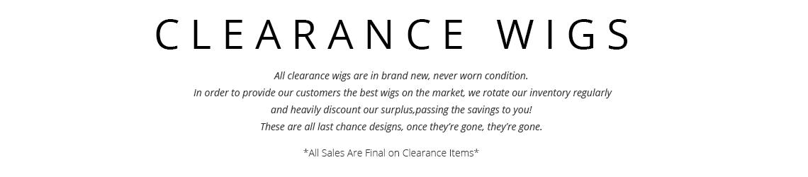 Uniwigs clearance sale