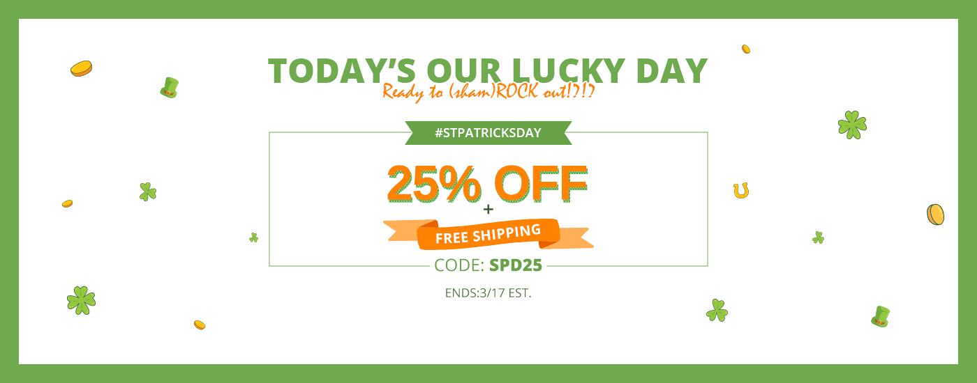 St.Patrick's Day Sale